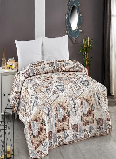 Komfort Home Çift Kişilik Çok Amaçlı Örtü - Pike 200x220 CM / V14 Renkli